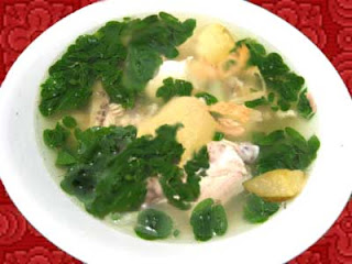 moringa chicken tinola recipe