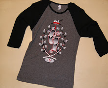 mens and womans 3/4 sleeve baseball garage ink t-shirts