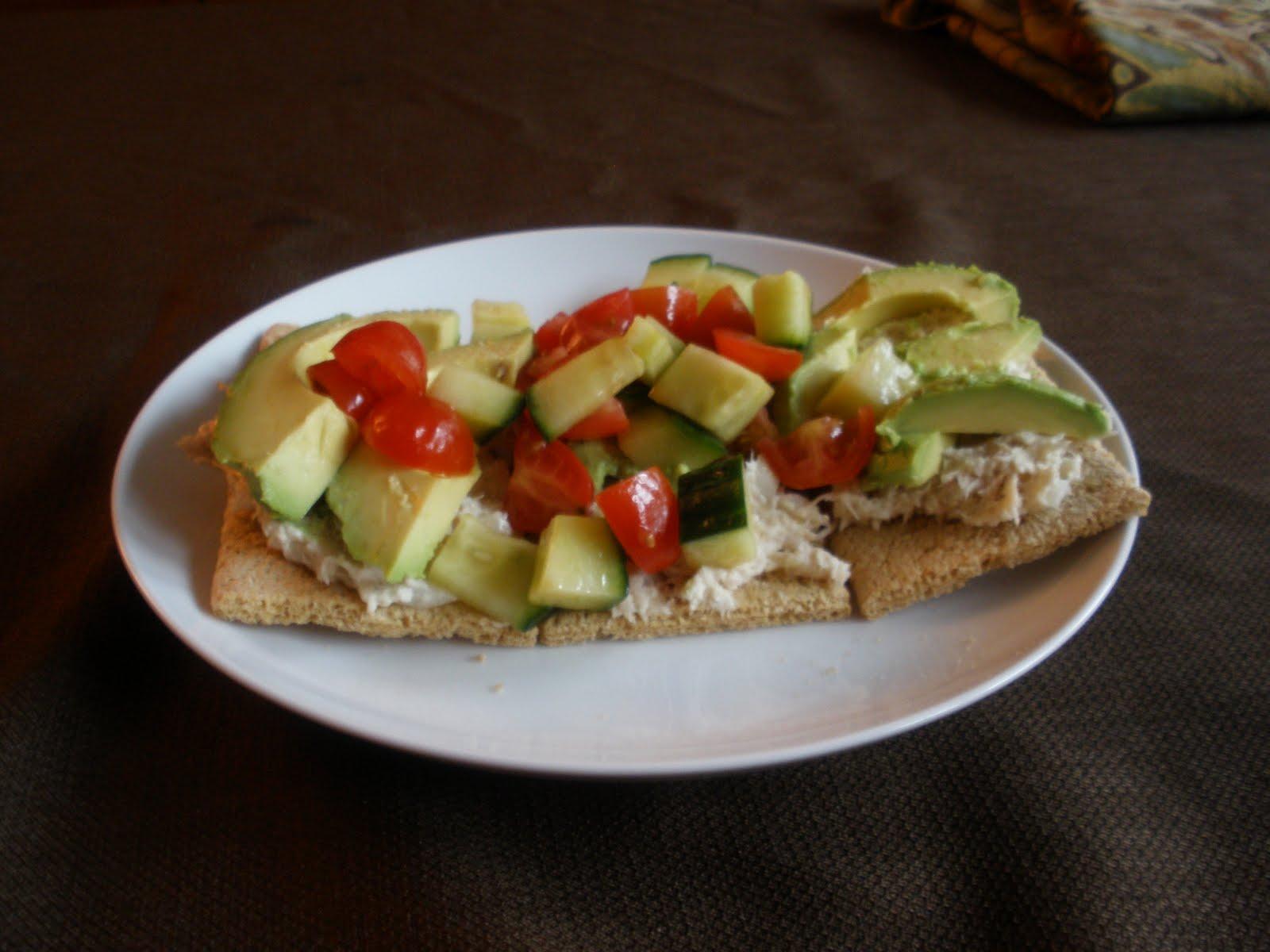 Chez LaFleur in Manhattan: Suzee's Tuna Tartine