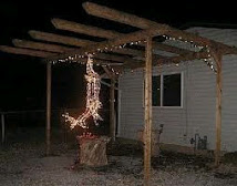 Redneck Christmas Decoration