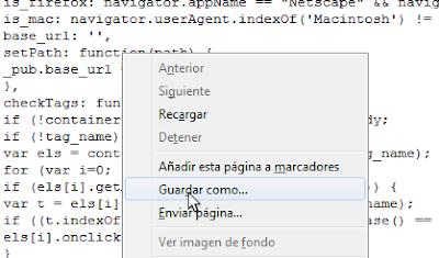 Imagen: Script- Guardar como...