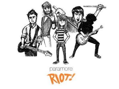 Caricaturas de PARAMORE Paramore+dibujo