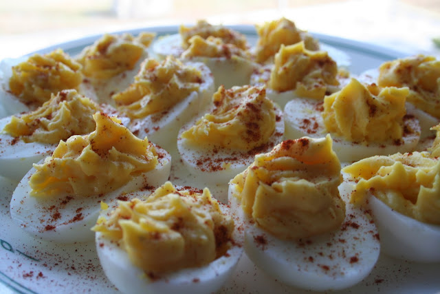 The best classic deviled egg recipe I've ever had. Like, ever. ohsweetbasil.com