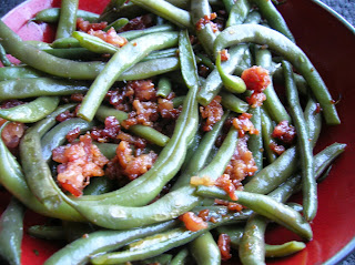String Beans with Bacon