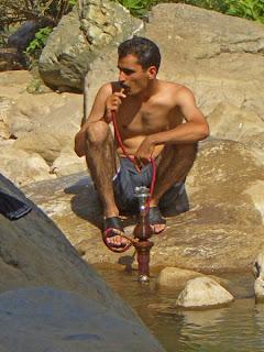 Hookah pipe in Iran