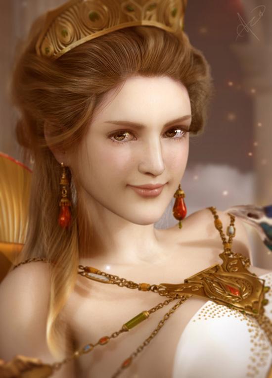 Oh Hera, goddess