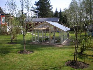 Växthus Odla : Odla sin trädgård nytt växthus i värmland