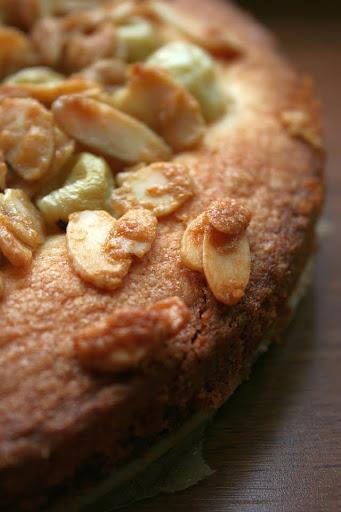 Ciasto agrestowo-pomarańczowo-migdałowe