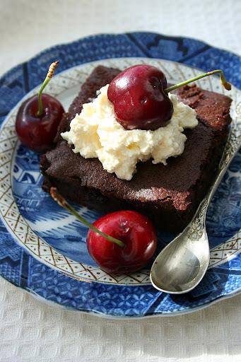 Black forest brownies czyli brownies z czereśniami