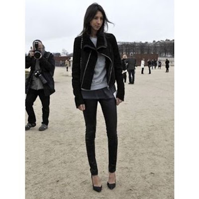 Leggings Fashion 2009 on Golestaneh   Street Style  Leather Leggings