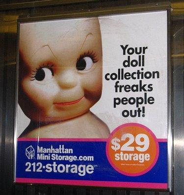 Moving and storage ad