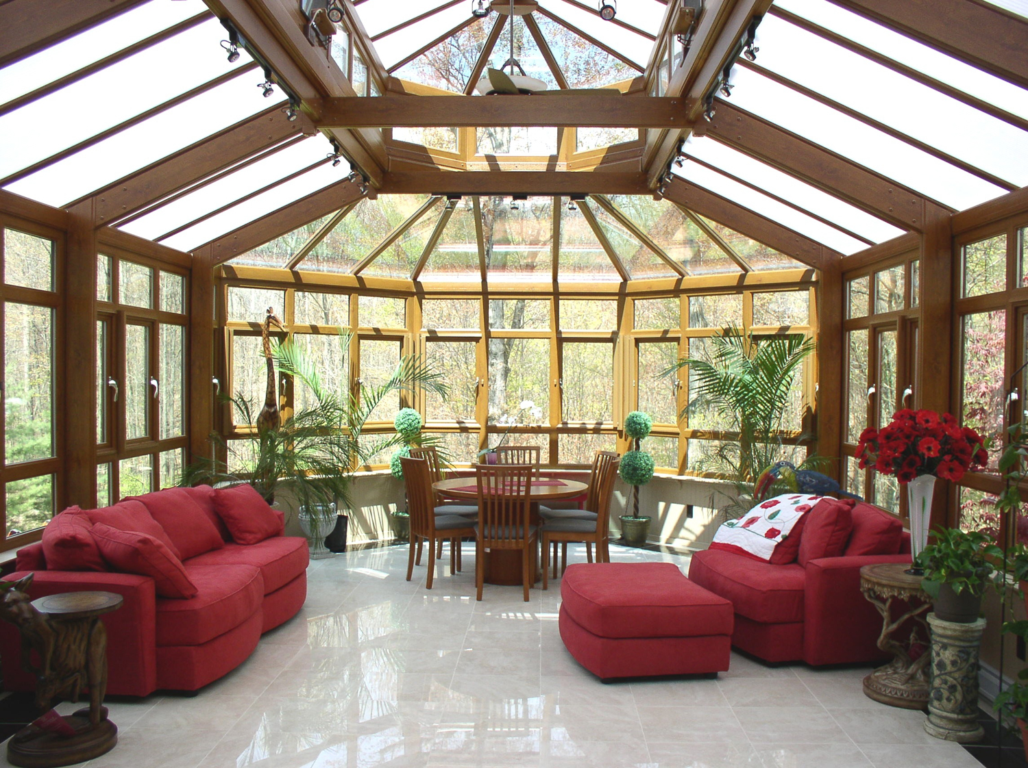 home decoreting On house sunroom