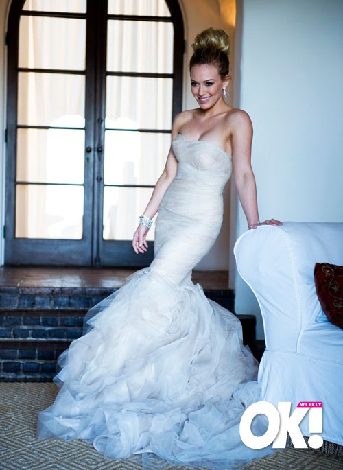 Holdem Celebrity More Hilary Duff Amp Mike Comrie Wedding Photos