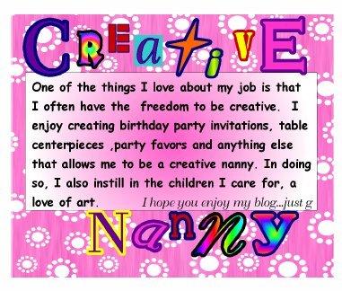 Creative Nanny