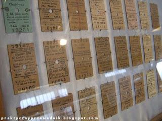 Dni Techniki Kolejowej 2009 Kraków Stare bilety kolejowe