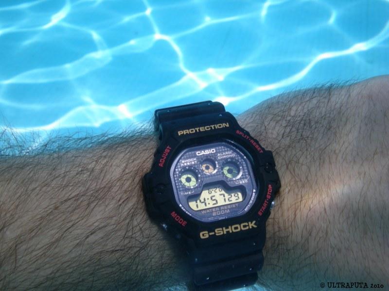 Casio G Shock Swimming Pool Shots Alti Depth