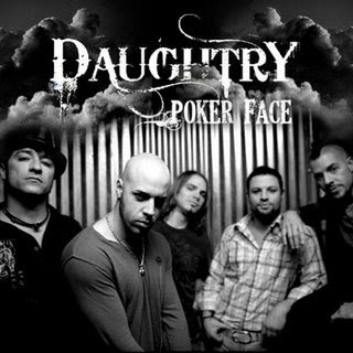 Poker face acoustic chris daughtry chords