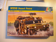 M998 Desert patrol