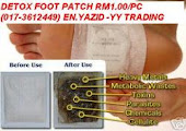 DETOX FOOT PATCH RM0.65/PC