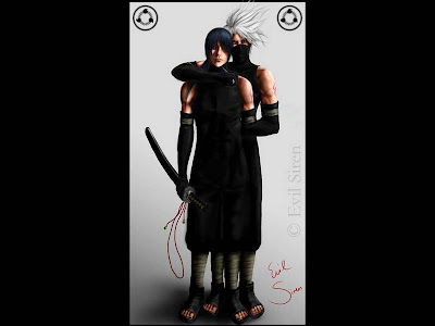 Kakashi and Itachi