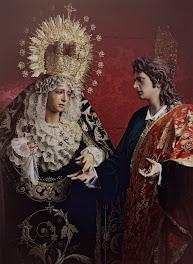 Virgen de la Amargura y San Juan Evangelista