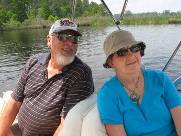 Jim&Barbara on the GW