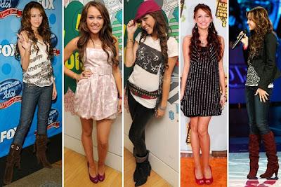 Celebridades adolescentes de la moda de las noticias