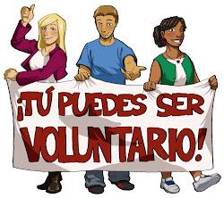 ¡Tú puedes ser voluntari@!
