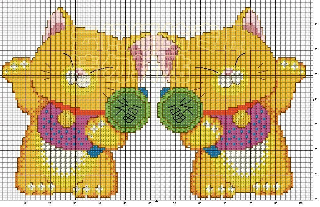 Еще двухсторонние схемы котов