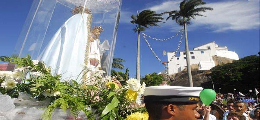 """""""Virgem da Penha, minha alegria, Senhora Nossa, Ave Maria!"""""""