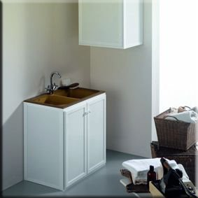 Muebles de aluminio para la galer a reformas guaita - Fregaderos de aluminio ...