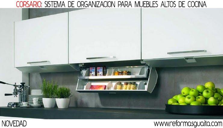 Mueble auxiliar cocina alto - Mueble almacenaje cocina ...