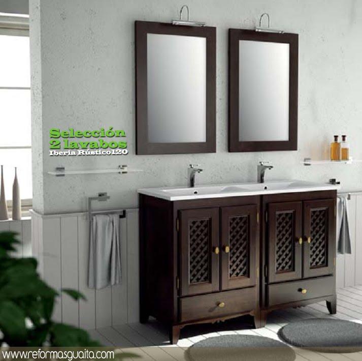 Informe especial lavabo para dos reformas guaita for Muebles de lavabo de 70 cm