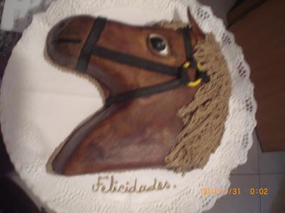 Minueth tartas decoradas para cualquier ocasi n tarta - Cabezas de animales decoracion ...