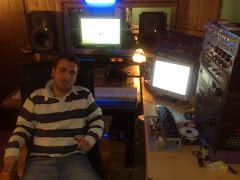 Sergio en el estudio