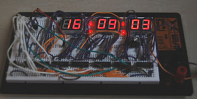 7-Segment Digital Clock PIC16F627A