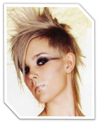 Tagged with: Mohawk Punk Hairstyle for Young Men Simple Hair Styles: Curly