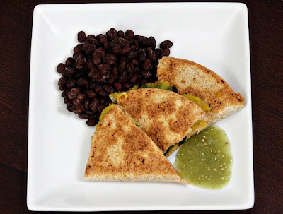 Erin's Food Files » Acorn Squash Quesadillas