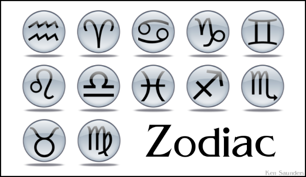 thi zodiac tattoo symbol picture small and simple match for girl,place on
