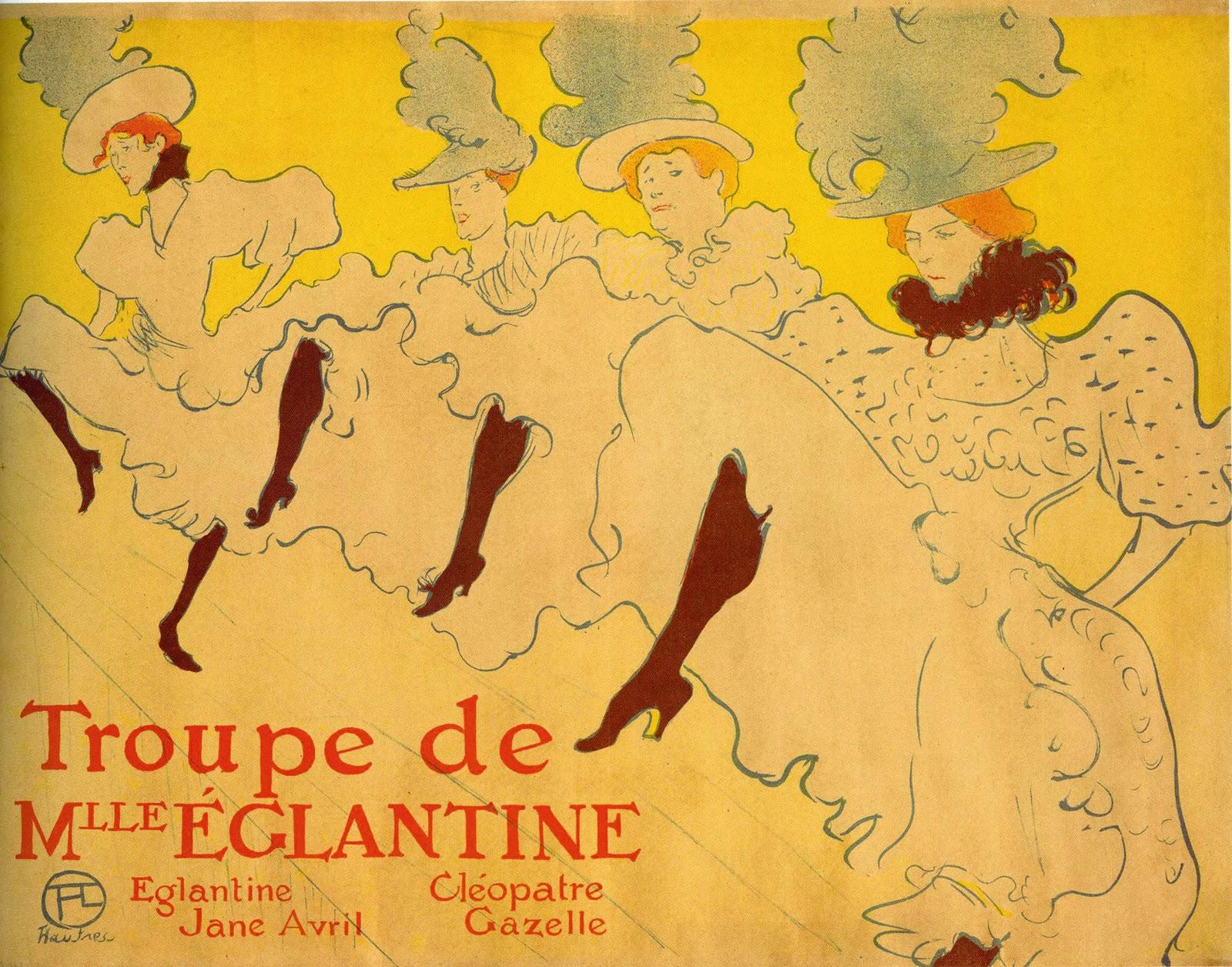 Art history assignment henri de toulouse lautrec for Toulouse lautrec works
