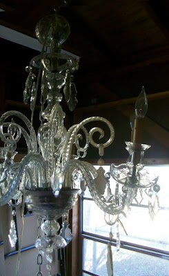 My future colorful chandelier...I can't wait to paint it!