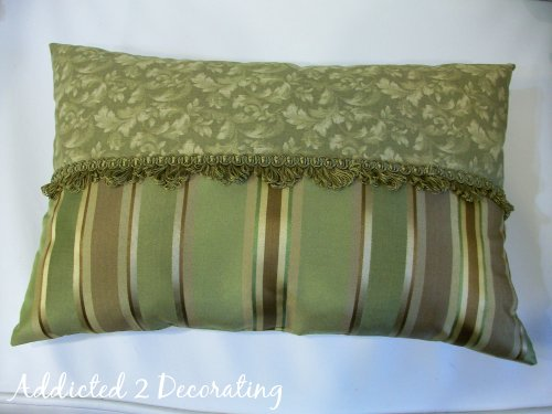 Sewing Decorative Bed Pillows : Simple Decorative Pillow