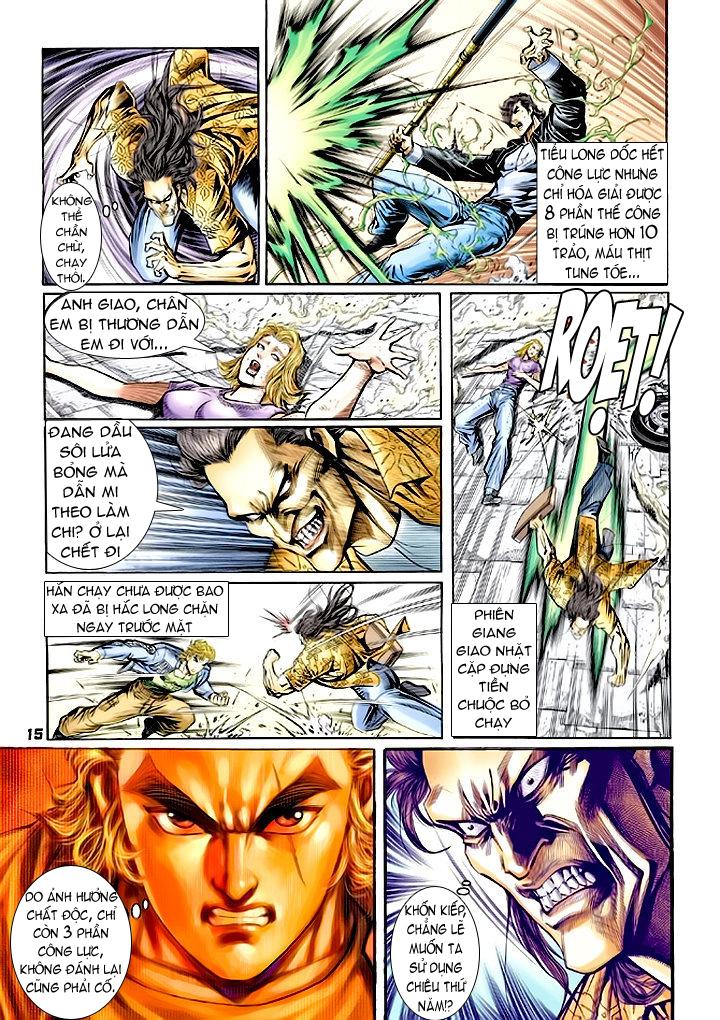 Tân Tác Long Hổ Môn chap 64 - Trang 15