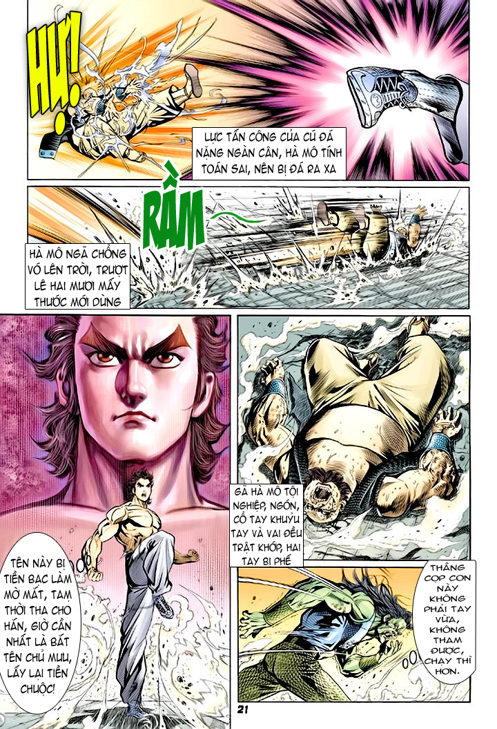 Tân Tác Long Hổ Môn chap 64 - Trang 21