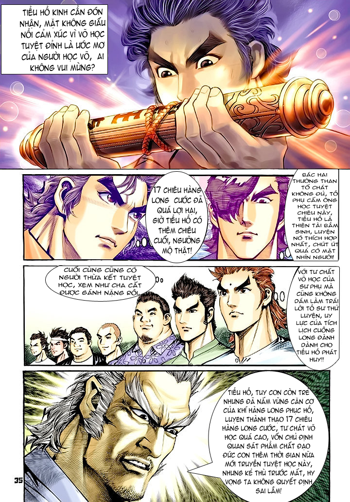 Tân Tác Long Hổ Môn chap 64 - Trang 35