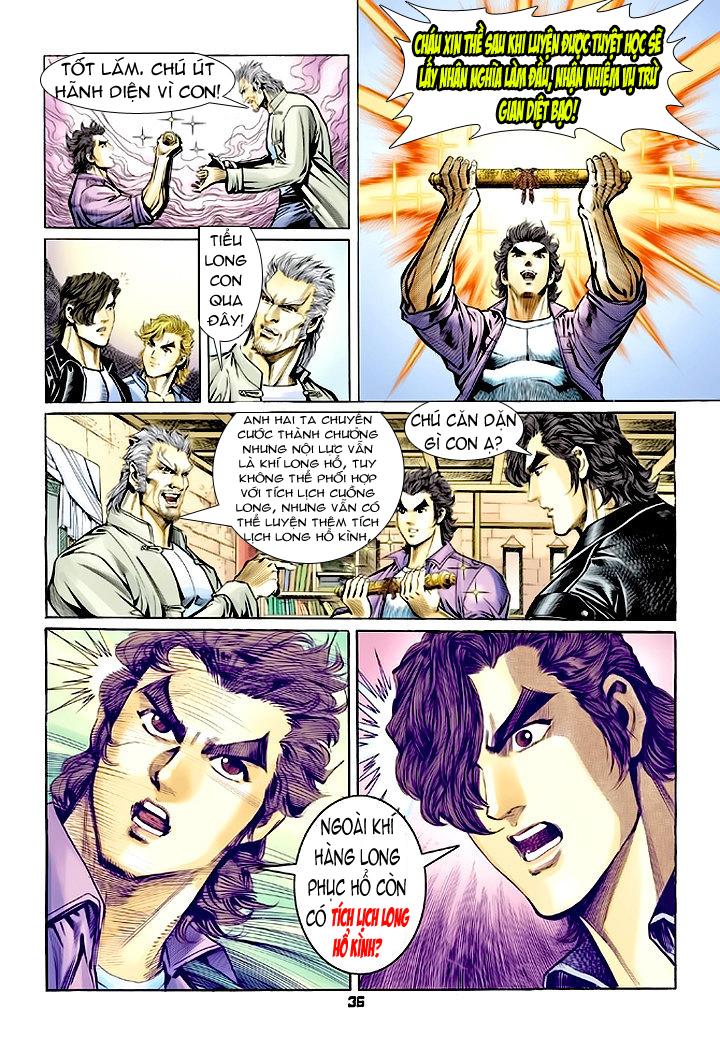 Tân Tác Long Hổ Môn chap 64 - Trang 36