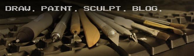 draw. paint. sculpt. blog.
