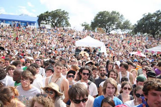 crowd at Houston festival