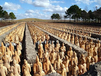 statues in Katy Tx forbidden gardens
