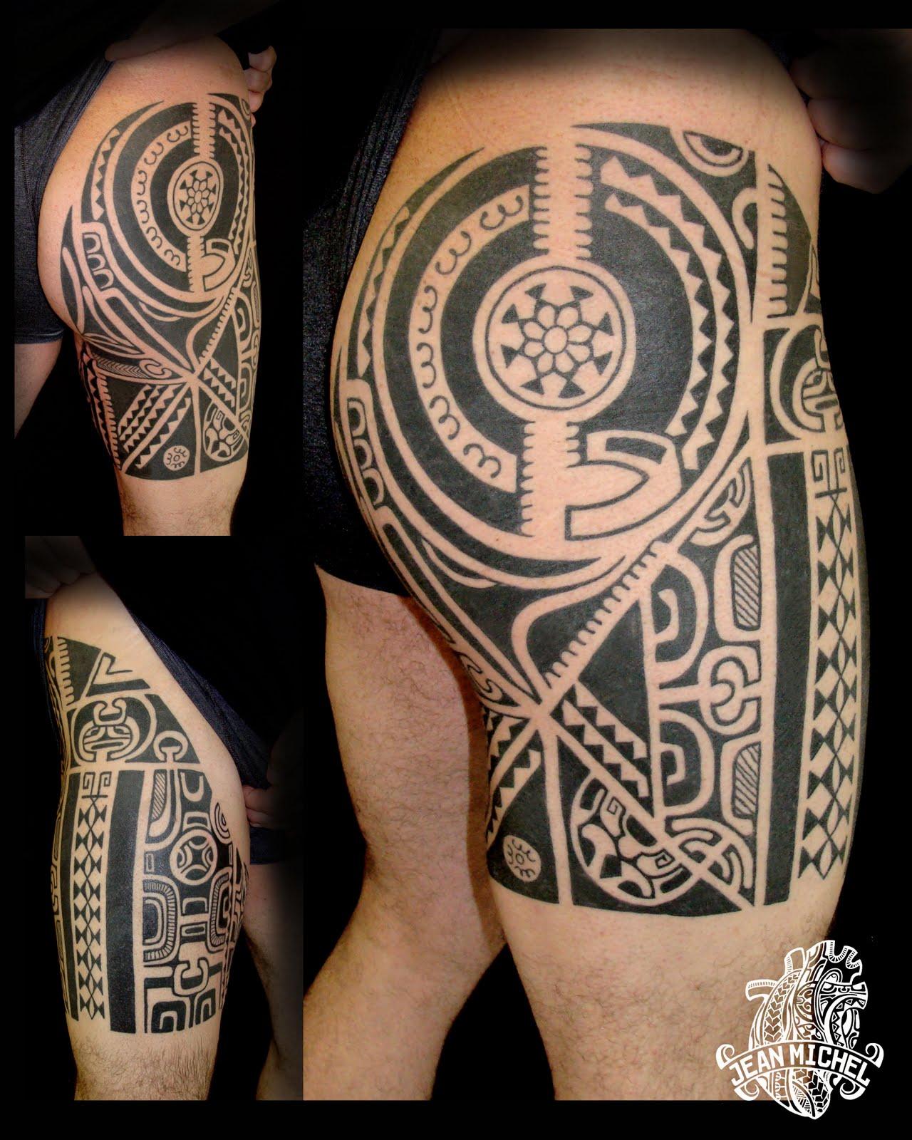 tatouage polynesien polynesian tattoo